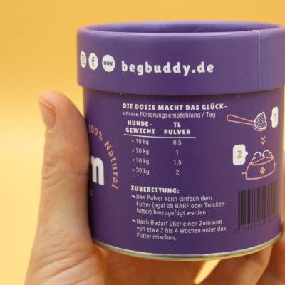 BegBuddy kurt KOKObain Superfoods für Hunde